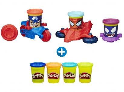 76637a9fed Massinha PlayDoh Marvel Pote Veículo - Hasbro + Massinha Play-Doh Classic  Color