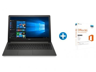 Notebook Dell Inspiron 15 i15-5566-A40B Série - 5000 Intel Core i5 + Microsoft...