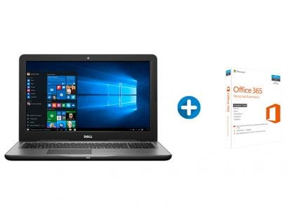 "Notebook Dell Inspiron i15-5567-A40B Intel Core i7 - 8GB 1TB LED 15,6"" +..."