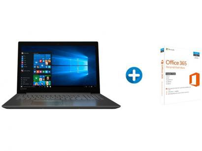 "Notebook Lenovo Ideapad 320 Intel Dual Core - 4GB 500GB LED 15,6""+ Microsoft..."