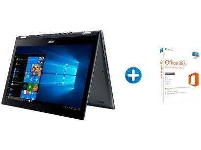 Notebook 2 em 1 Acer Spin 5 SP515-51N-50BY - Intel Core i5 8GB + Microsoft...
