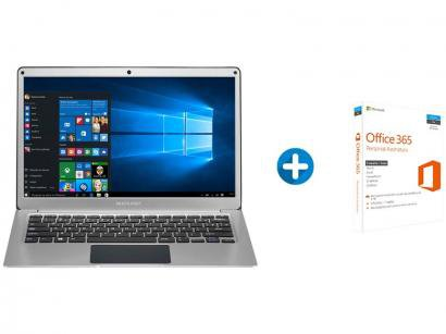 "Notebook Multilaser Legacy Air Intel Dual Core 4GB - SSD 32GB LCD 13,3"" +..."