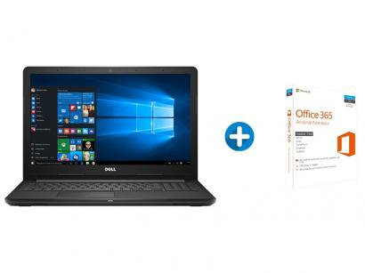 "Notebook Dell Inspiron i15-3576-A70 Intel Core i7 - 8GB 2TB LED 15,6"" +..."
