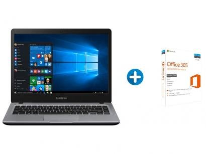"Notebook Samsung Essentials E35S Intel Core i3 - 4GB 1TB LED 14"" + Microsoft..."