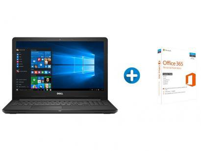 Notebook Dell Inspiron i15-3567-A50P Intel Core i7 - 8GB 2TB LED 15,6 +...