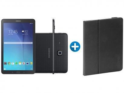 "Tablet Samsung Galaxy Tab E T560 8GB 9,6"" Wi-Fi - Android 4.4 Proc. Quad Core..."