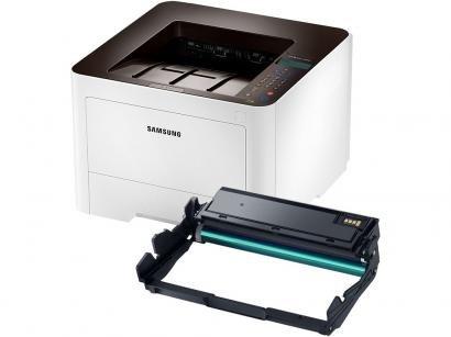Impressora Samsung Xpress M4025DN Laser - LCD 2 Linhas USB + Unidade de Imagem...
