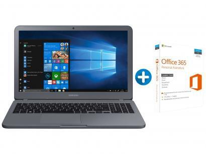 "Notebook Samsung Expert X50 Intel Core i7 8GB 1TB - LED 15,6"" Full HD +..."