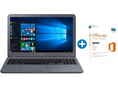 "Notebook Samsung Expert X30 Intel Core i5 8GB - 1TB LED 15,6"" + Microsoft..."