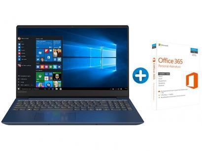 "Notebook Lenovo Ideapad 330S Intel Core i7 8GB"" - 1TB LED 15,6"" + Microsoft..."