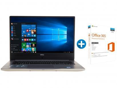 "Notebook Dell Inspiron i14-7472-A20G Intel Core i7 - 8GB 1TB LED 14"" +..."