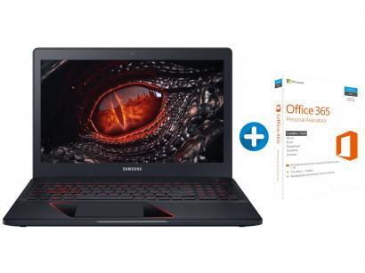 "Notebook Gamer Samsung Odyssey Intel Core i5 8GB - 1TB LED 15,6"" + Microsoft..."