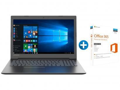 "Notebook Lenovo Ideapad 330 Intel Celeron 4GB - 1TB LED 15,6"" + Microsoft..."