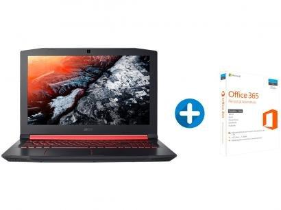 "Notebook Gamer Acer Aspire Nitro Intel Core i7 - 8GB 1TB LED 15,6"" + Microsoft..."