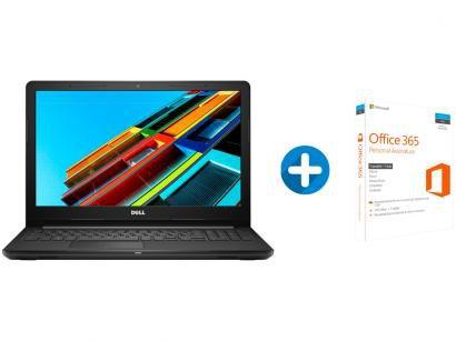 "Notebook Dell Inspiron i15-3576-A62C Intel Core i5 - 8GB 1TB LED 15,6"" +..."