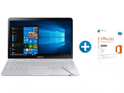 Notebook Samsung Style S51 Pen Intel Core i7 8GB - SSD 256GB LED + Microsoft...