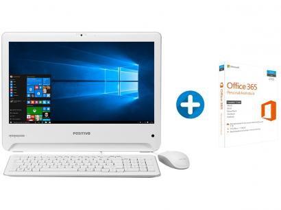Computador All in One Positivo Union UD3531 Intel - Dual Core 4GB + Microsoft...