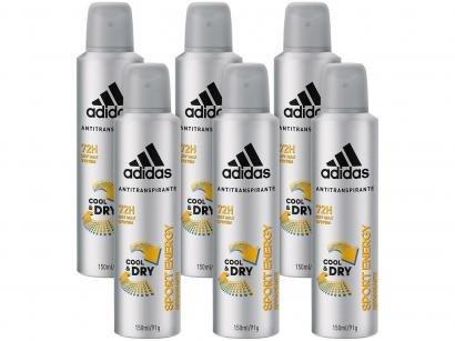 Desodorante Aerosol Antitranspirante Masculino - Adidas Sport Energy Cool &...
