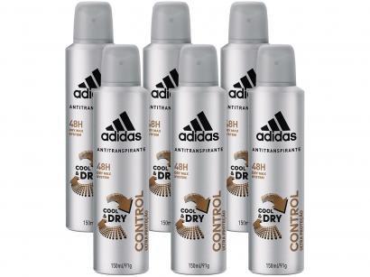 Desodorante Aerosol Antitranspirante Masculino - Adidas Control Cool & Dry...