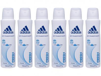 Desodorante Aerosol Antitranspirante Feminino - Adidas Fresh Cool & Care...