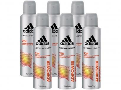 Desodorante Aerosol Antitranspirante Masculino - Adidas Adipower 150ml 6...