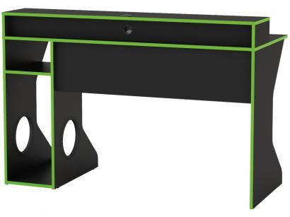 Kit Cadeira Gamer XT Racer Reclinável - Preta e Cinza + Mesa para Computador