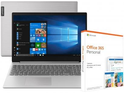 Notebook Lenovo Ideapad S145 Intel Core i7 8GB - 512GB SSD + Pacote Microsoft...