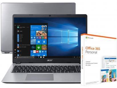 Notebook Acer Aspire 5 A515-52-536H Intel Core i5 - 8GB + Pacote Microsoft...