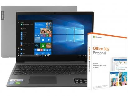 Notebook Lenovo Ideapad S145 Intel Core i7 - 8GB + Pacote Microsoft Office 365...