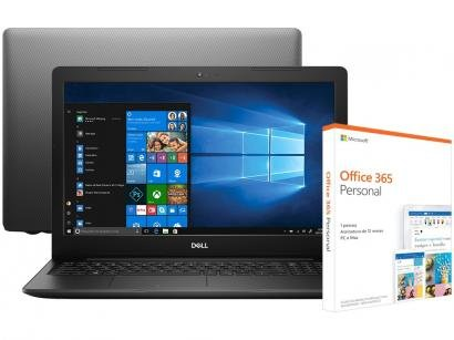 Notebook Dell Inspiron 15 3000 i15-3583-A20P - Intel Core i5 + Pacote Microsoft...