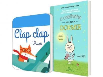 Kit Livros O Coelhinho que Queria Dormir - Vrum: Clap Clap