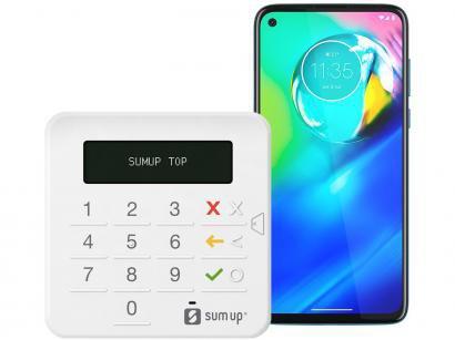 """Smartphone Motorola Moto G8 Power 64GB Azul - 4G Tela 6,4"""" + Máquina de..."""