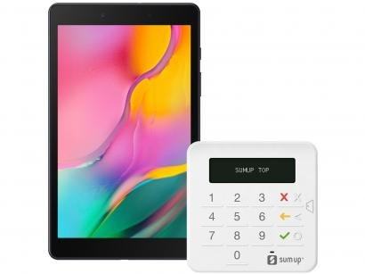 """Tablet Samsung Galaxy Tab A T295 32GB 8"""" 4G - Android 9.0 com Máquina de..."""