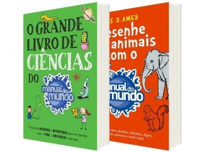 Kit Livros - Manual do Mundo