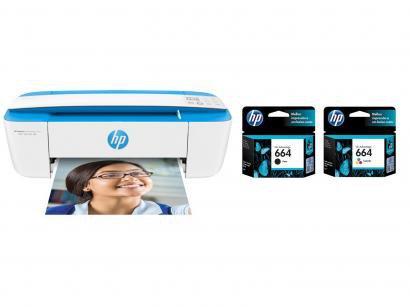 Impressora Multifuncional HP DeskJet Ink 3776 - Jato de Tinta Colorida Wi-Fi +...