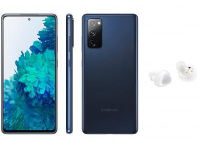 Smartphone Samsung Galaxy S20 FE 256GB Cloud Navy - 8GB RAM + Fone de Ouvido Bluetooth Galaxy Buds+