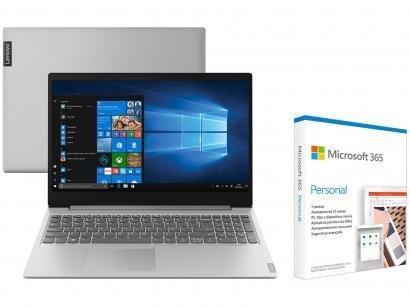 Notebook Lenovo Ideapad S145 82DJ0003BR - Intel Core i5 256GB SSD + Microsoft 365 Personal
