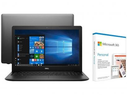Notebook Dell Inspiron 15 3000 210-AXJS Intel Core - i7 256GB SSD + Microsoft 365 Personal 1TB