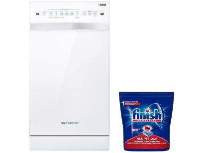 Lava-louças Brastemp BLF10BB - 10 Serviços + Detergente Finish Tabs 30 Unidades