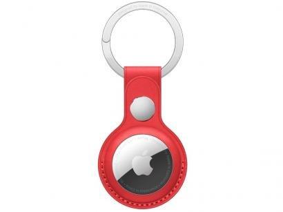 Chaveiro de couro para Apple AirTag - (PRODUCT)RED