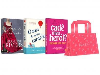 Kit Livros Mulher Romântica Edição Limitada - com Brinde
