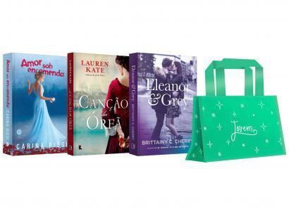 Kit Livros Mulher Jovem Edição Limitada com Brinde