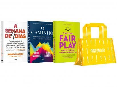 Kit Livros Mulher Antenada Edição Limitada - com Brinde