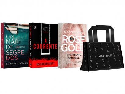 Kit Livros Mulher Misteriosa Edição Limitada - com Brinde