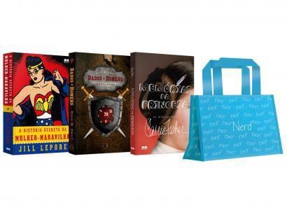 Kit Livros Mulher Nerd Edição Limitada com Brinde