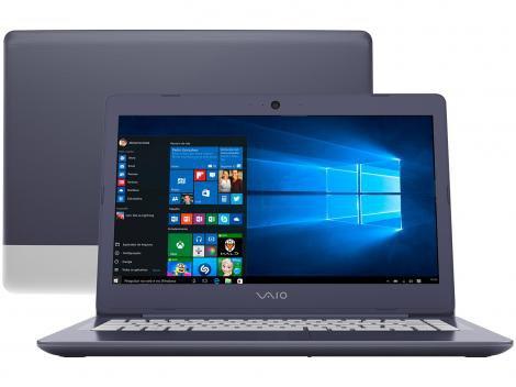 "Notebook Vaio C14 VJC141F11X-B0111L Intel Core i3 - 4GB 1TB 14"" Windows 10"