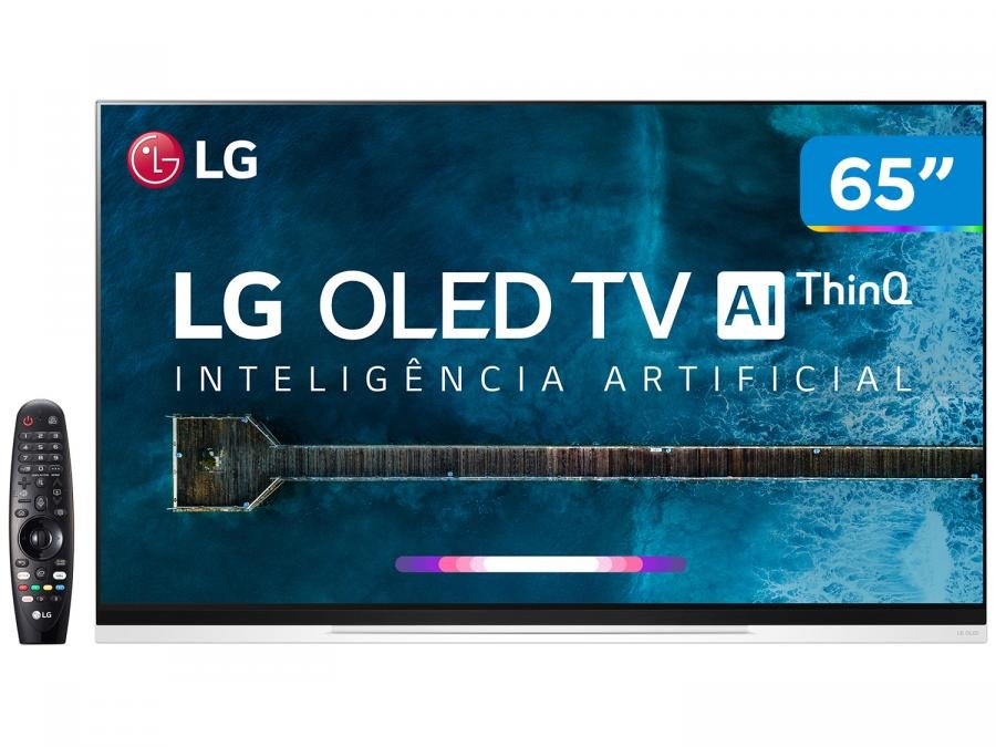 "Tv 65"" Oled LG 4k - Ultra Hd Smart - Oled65e9p"