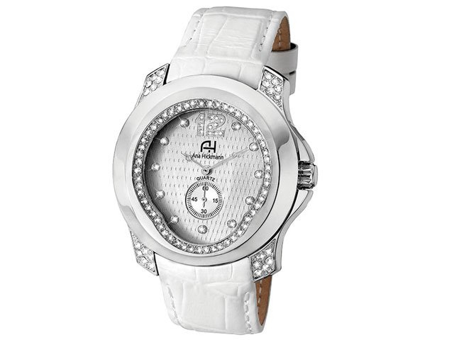 74202518c26 Relógio Feminino Ana Hickmann Analógico - Resistente à Água AH 28286 Q