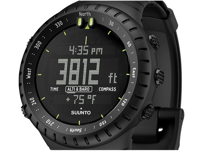 c6e12cae852 Magazine Luiza · Relógio Outdoor Suunto Core All Black - Resistente à Água  Alar