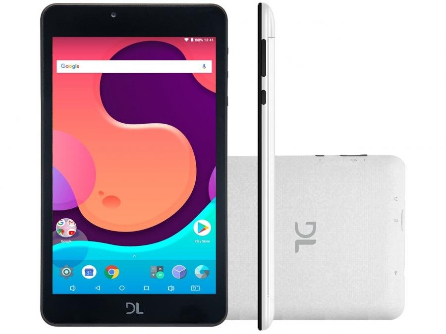 cab7a9af522c6 Magazine Luiza · Tablet DL Creative Tab 8GB 7